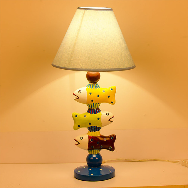 Led childrens room lamp small fish desk lamp bedroom bedside table led childrens room lamp small fish desk lamp bedroom bedside table lamp creative childrens boy cartoon aloadofball Image collections
