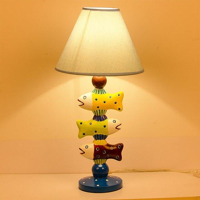 Led Kinderzimmer Lampe Kleine Fische Schreibtischlampe Schlafzimmer