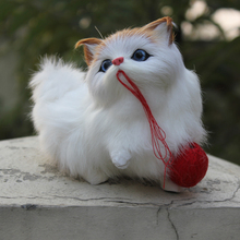 Hot Sale Popular High Quality Cat Plush Stuffed Playing Cat Cute Lifelike Toy