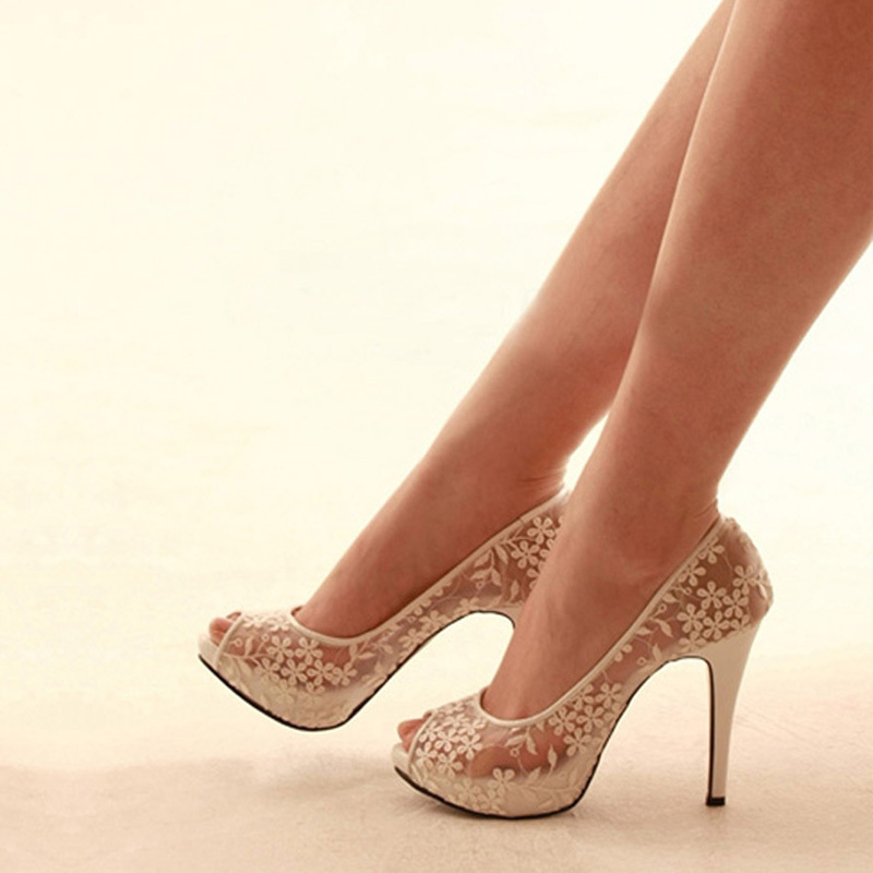 Popular White Kitten Heels-Buy Cheap White Kitten Heels lots from