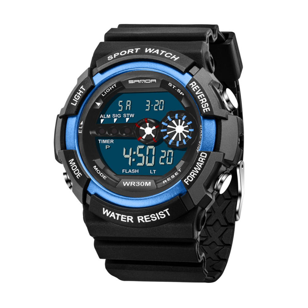 New Top Brand 2107 Digital Wacth Men Sports Watch for ...