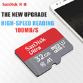 SanDisk micro sd 128GB 64GB 32GB 16GB 90mb/s TF usb flash memory card microsd 8GB/48MB/s class10 Original Product free shipping