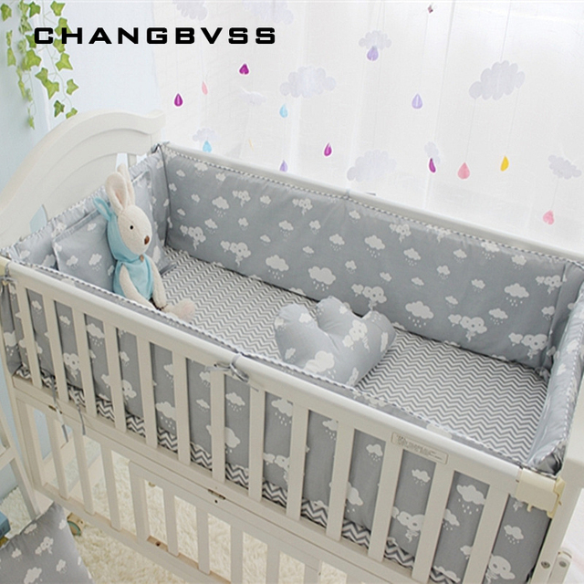 Newborn Crib Bedding Set 5pcs Bed Linen 100 Cotton 5pcs