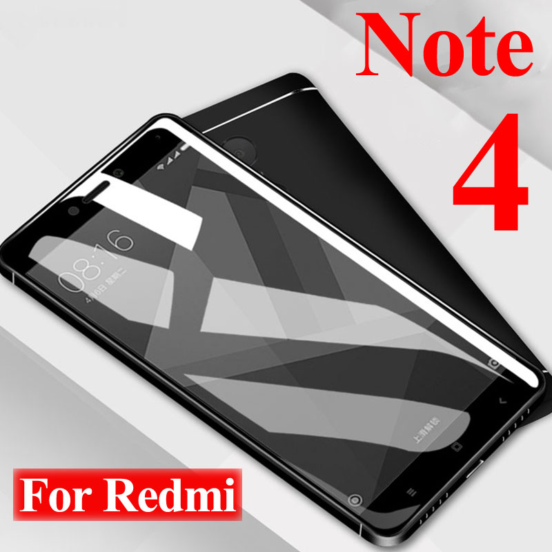 Protective-Glass Armor Xiaomei Redmi Note X4-X-Screen-Protector 4x-Tempered For 9H On