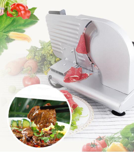 COMMERCIAL MEAT SLICER Electric Meat Cutter Sliceable Pork Frozen Meat Cutter Slicer Cutting Machine 110V/220V free shipping exports to united states 110v 220v desktop type meat cutter meat cutting machine meat slicer
