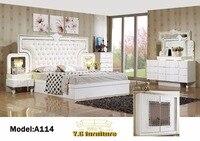 Muebles де Мадера 2018 Бесплатная доставка! Модные Современные Спальня набор мебели хорошо Quolity продвижение дешевой цене номер