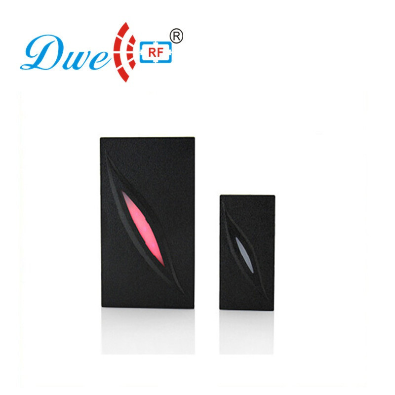 DWE CC RF access control card reader dual frequency nfc chip reader mini waterproof black reader