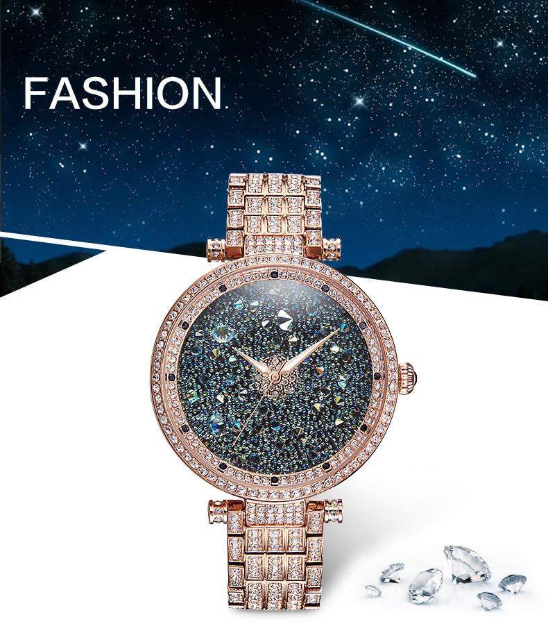 Sıcak Satış Ünlü PB Marka Prenses Kelebek Tüm Yıldızlar Lüks - Kadın Saatler - Fotoğraf 2