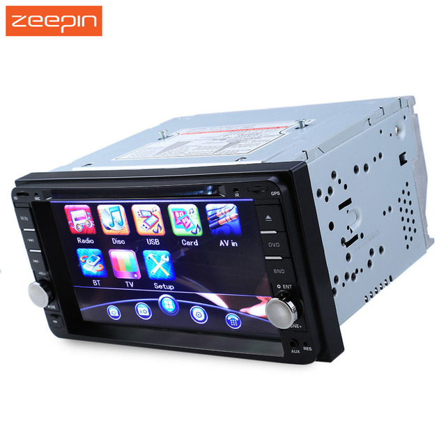 Universal 12V 7 inch Double Din in Dash 45W Car Stereo Video Player In-dash Mic for Toyota Free Shipping