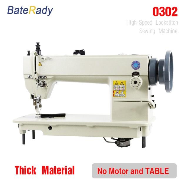 0302 industrielle nähmaschine, pelz, leder, BateRady verdicken nähen ...