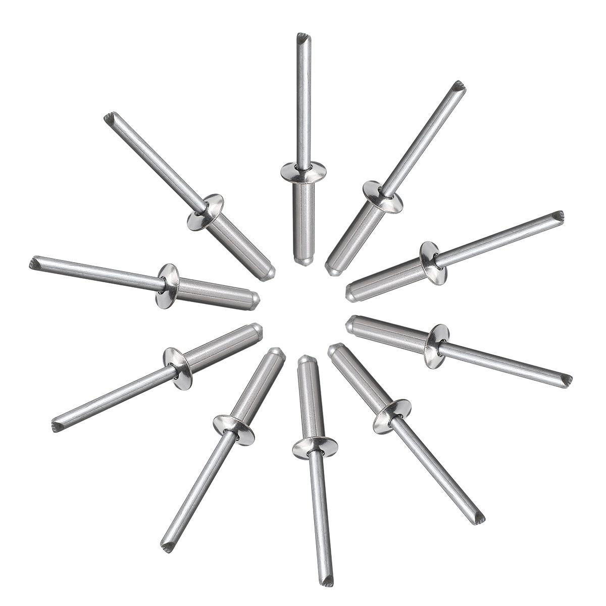 100pcs Set M5 Stainless Steel Blind Rivets Nail Decoration Pop