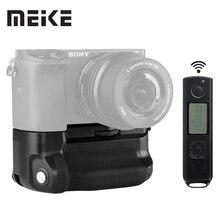Meike MK A6300 pro держатель батарейного блока 2,4G беспроводной пульт дистанционного управления для sony A6300 A6400 A6000 работает с 1 или 2 NP FW50 батареей