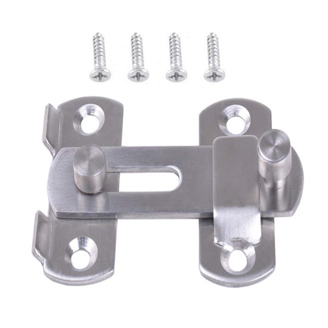 70*50 Mm Hasp Latch METAL Hasp Latch Lock Sliding Door Lock For Window Cabinet Fitting Sliding Door Buckle