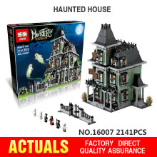 Lepin 16007 Monster Fighters series the Haunted House Model Building Bricks set compatible legoed Architecture Toys for children