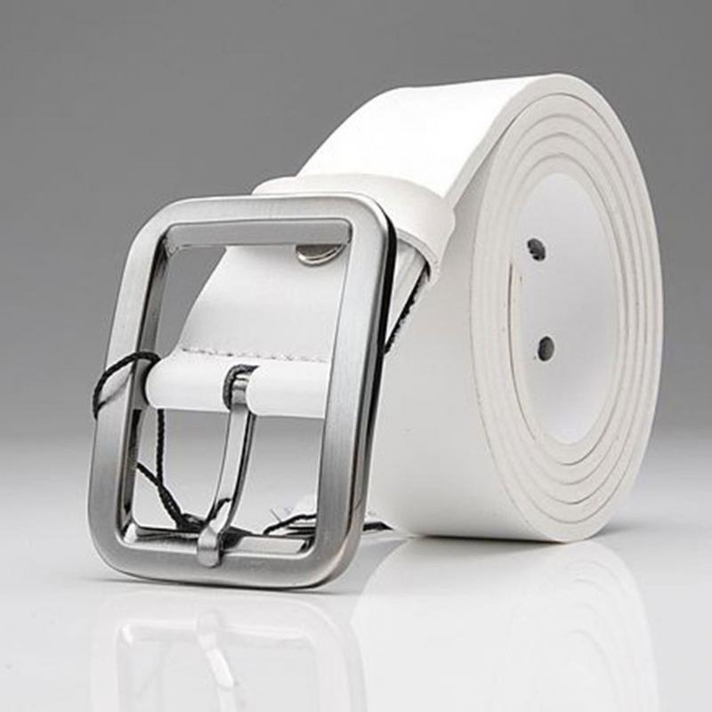 Adult Male New Buckle Square Shape Stra Imitation Leather Upscale nice and soft PU   Belt   High Quality For Men