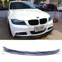 Для ARKYM Стиль стайлинга автомобилей углеродного волокна переднего бампера для губ Portector для BMW 3 серии E90 LCI M TECH 2008 2011
