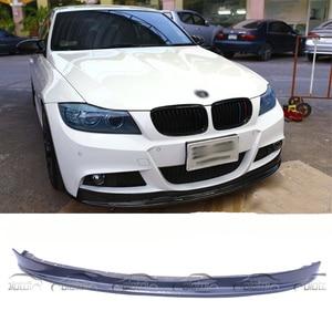 Car Styling Carbon Fiber Front Bumper Lip Portector for BMW 3 Series E90 LCI M-TECH 2008-2011
