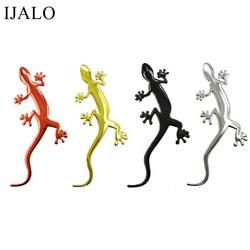 Eidechse Gecko Lustige 3D auto aufkleber weiche PVC Verchromte abzeichen emblem aufkleber auto dekoration Automobil Abziehbilder Auto-Styling zubehör