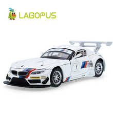 High-quality for BMW Z4 1: 32 Alloy Model MINI Car Childrens Toys Christmas Gifts Pull Back with Sound&Light