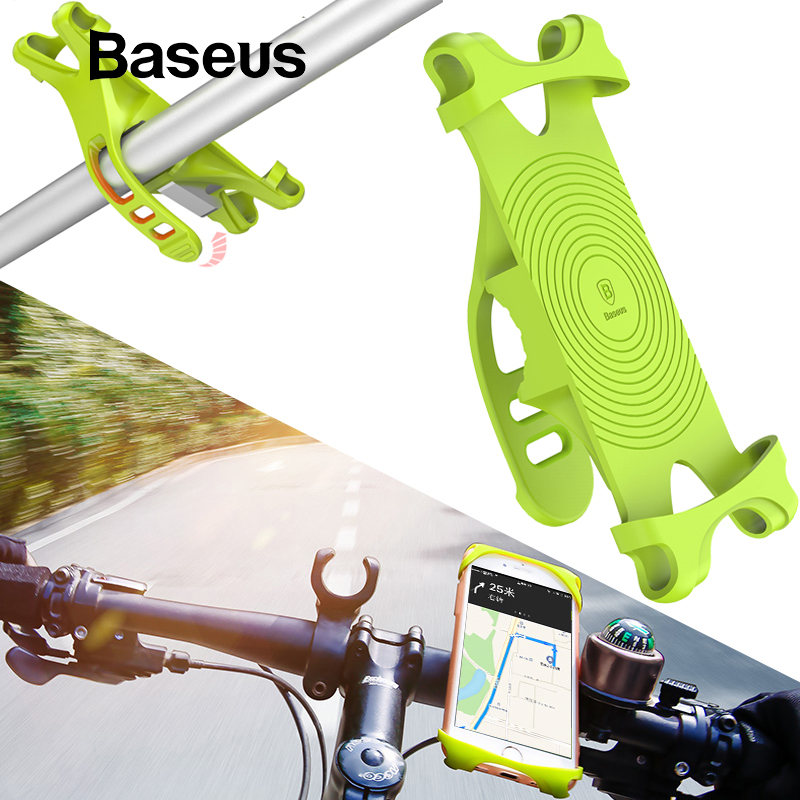 Baseus bicicleta soporte para teléfono celular inteligente teléfono móvil titular de la bicicleta del montaje del manillar de soporte GPS soporte bicicleta soporte para teléfono
