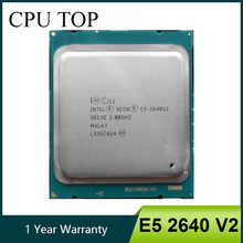 Intel Xeon E5 2640 V2 Processore 2.0GHz 20M LGA 2011 SR19Z CPU(China)