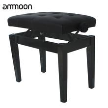 High Quality Piano Keyboard Bench Stool Adjustable Height Padded Leather Wood  sc 1 st  AliExpress.com & Popular Leather Piano Stool-Buy Cheap Leather Piano Stool lots ... islam-shia.org