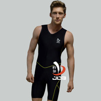 Job Mens One Piece Professional Swimwear Athletic Ironman Triathlon Swimsuit Running Wear Mens Tri Suit Triathlon