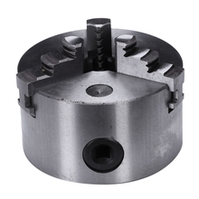 K11-100 3 Jaws Manual Lathe Chuck 100Mm 4Inch Self-Centering Chuck Three Jaws Hardened Steel For Drilling Milling Machine jaw self centering chuck k11 165 cnc machine diy