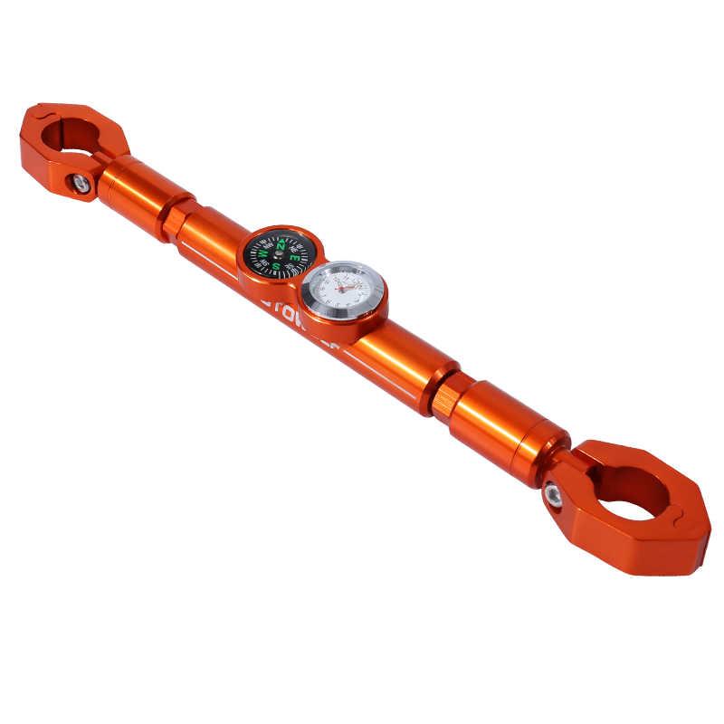 Motorcycle CNC offroad faucet rod Balance Crossbar diameter 22mm Handlebar