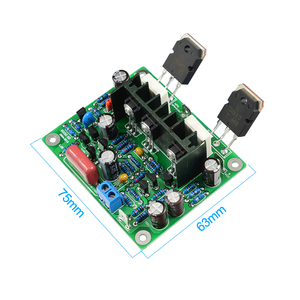 Image 4 - AIYIMA 2 ADET Hifi MX50 SE 100 W + 100 W Çift Kanallı Ses Güç Amplifikatörler Kurulu DIY Kiti Yeni sürümü