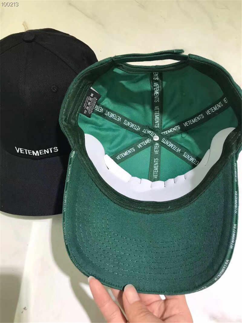 008e7a7f922feb Vetements Baseball cap Securite Letter Embroider Cap 1:1 High Quality Women  Men Casual Cap