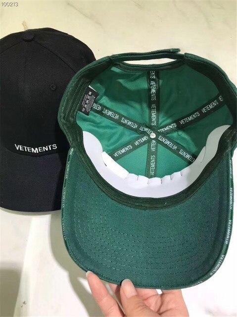 7c2eadb62b6 Vetements Baseball cap Securite Letter Embroider Cap 1 1 High Quality Women  Men Casual Cap Hat Vetements SECURITE
