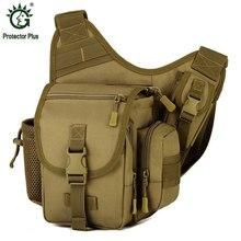 Männer Military Messenger Bag Nylon Mann DSLR Kamera Handtaschen Wasserdichte Männliche Sattel Umhängetaschen männer Camouflage Umhängetasche
