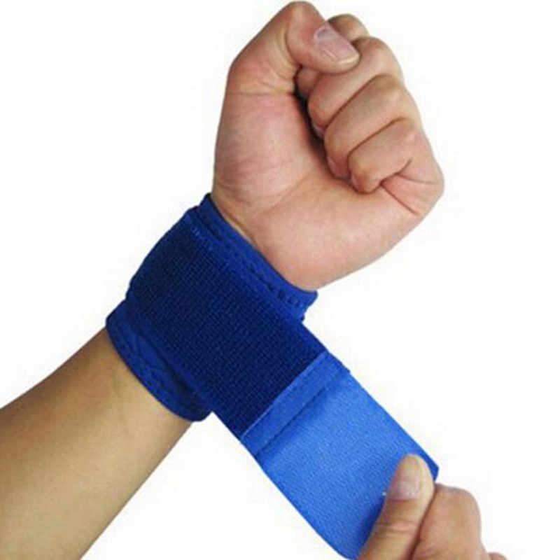 Регулируемые мягкие напульсники опора для запястий наручи для спортзала для игры в баскетбол защита для запястья дышащая повязка ремень безопасности LT027OLE