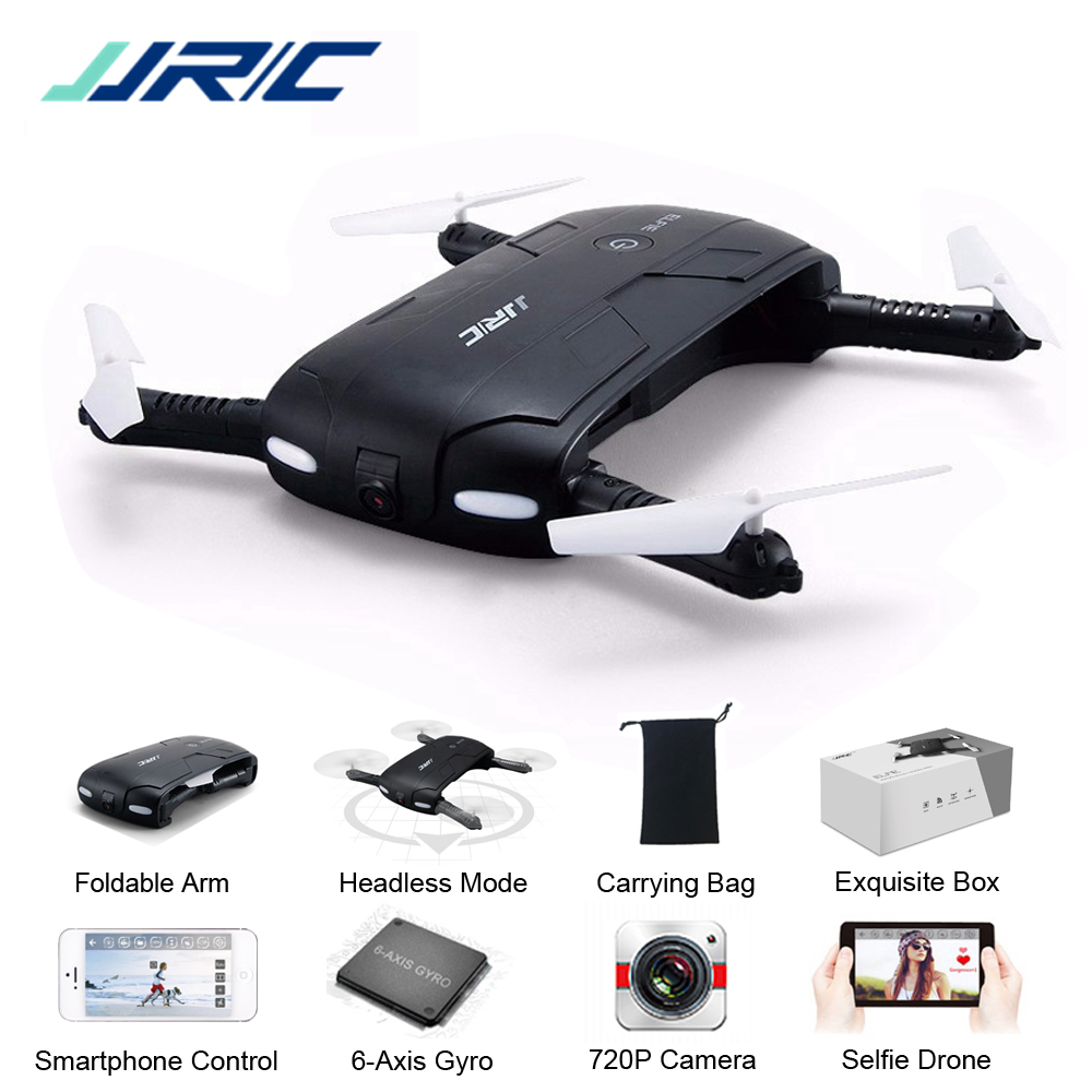 JJR/C JJRC H37 Elfie Mini для селфи Модернизированный Дрон 2MP WI-FI FPV Камера Складная рукоятка приложение Управление RC Quadcopter RTF VS Нибиру E50