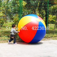 Free Shipping 1.5m inflatable beach ball beach play sport summer toy children game party ball outdoor fun balloon with a pump