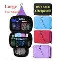 De gran capacidad Portátil bolsas de Cosméticos de Maquillaje bolsa de kits de aseo viajes Mujeres bolsas de viaje bolsa de Lavado 25*17*8.5 CM