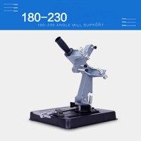 Electric angle grinder holder universal desktop for angle ginder support shelf 180 230mm large saw blade angle grinder support