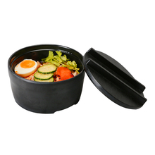 1Pcs Melamine Noodles Bowl Lid Fruit Dishes Salad Food Container Soup Tableware Kitchen Gadgets Dinnerware Accessories Supplies