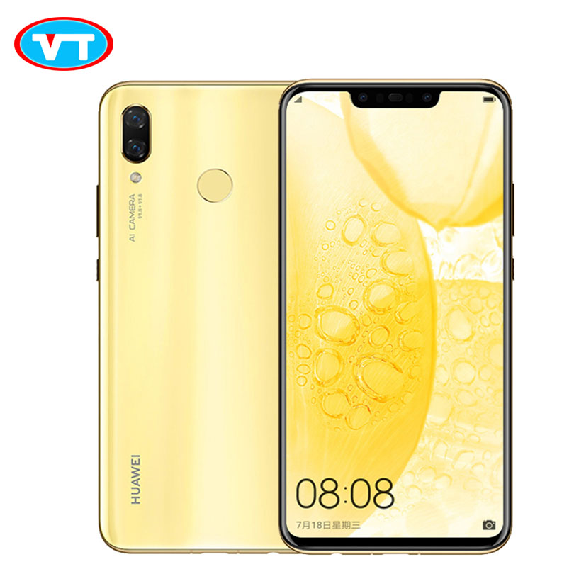 Smartphone Huawei Nova 3 6GB RAM 64 128GB Core Mobile Phone Face Unlock Android 8 1