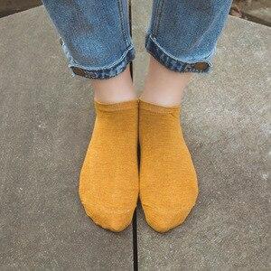 Image 5 - 10pair Cute 3D Candy colors Socks Unisex Women Men kids bamboo fiber Sock Female Fashion Casual Short Socks Art Socks  Low Ankle