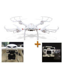 MJX X101 6-Axis Gyro Headless Mode One Key Return RC Quadcopter RTF 2.4GHz (with holder for Gopro 3 Gopro 4 SJ4000)