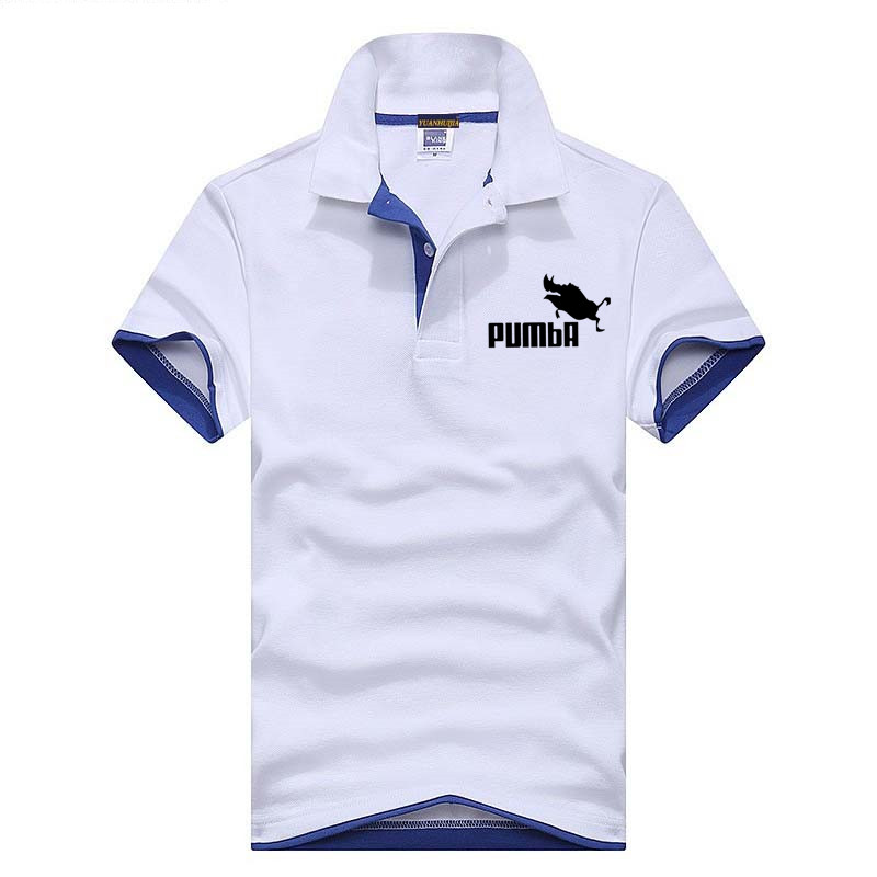 2018 New Fashion Style Men   Polo   Shirt Contrast Color Collar Short Sleeve Fitness Solid Male   Polo   Top Clothes Custom