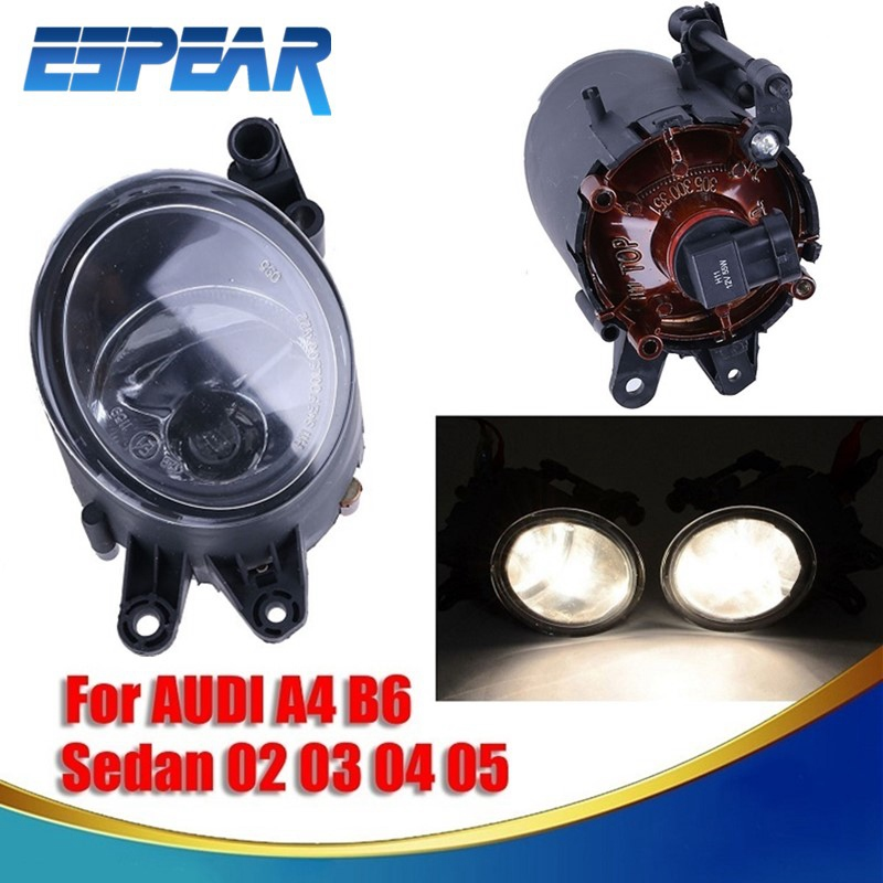 2x For AUDI A4 B6 Sedan & Quattro Avant S Line Trendy Base 2002 2003 2004 2005 Car Styling Fog Lights Front Bumper Fog Lamp #993 белорусская косметика склады где можно и цены