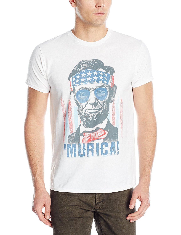 0c1f134e3 Hanes Men's Graphic T-Shirt - Americana Collection 100% Cotton Straight  O-Neck Short Sleeve S-XXL