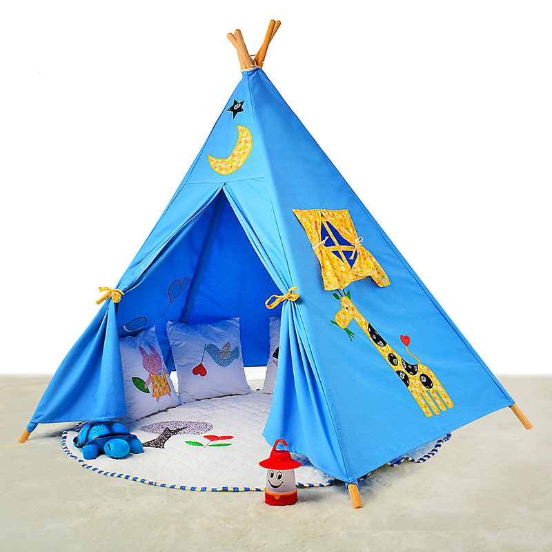 New Design Kids Teepee Play Tent For Elephant Carton Child