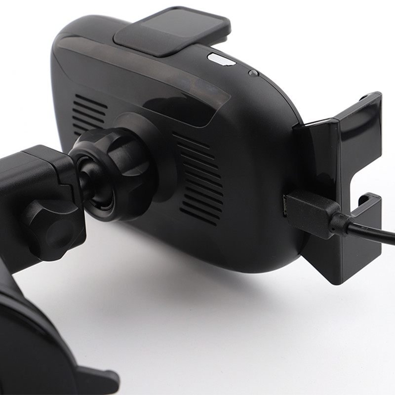 Support pour téléphone de voiture pour iPhone capteur infrarouge Intelligent voiture chargeur sans fil évent pare-brise support pour téléphone Mobile support pour téléphone - 2