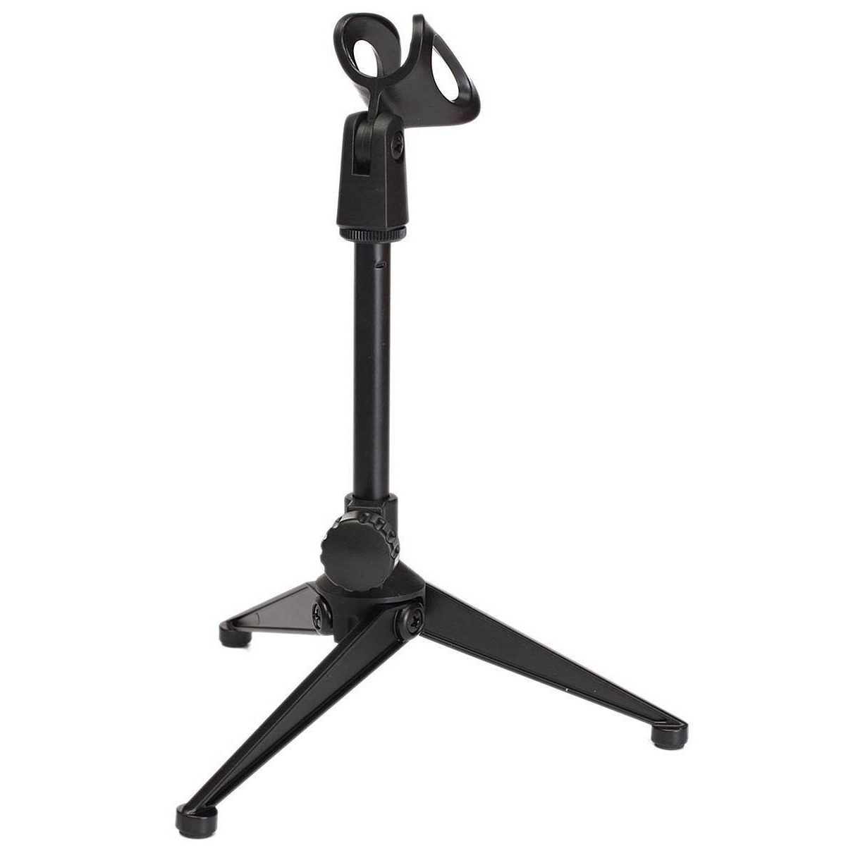 Microphone holder Microphone Stand Table stand microphone Mic table lightweight compact tripod design Stand holder with clamp adjustable recording mic microphone stand bracket tripod with dual phone holder multi function tripod tablet phone holder stand