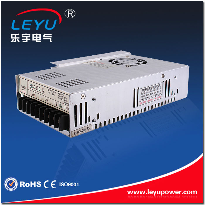 ФОТО High quality SD-350B-24 sigle output led power supply CE RoHS 350w dc dc power supply converter