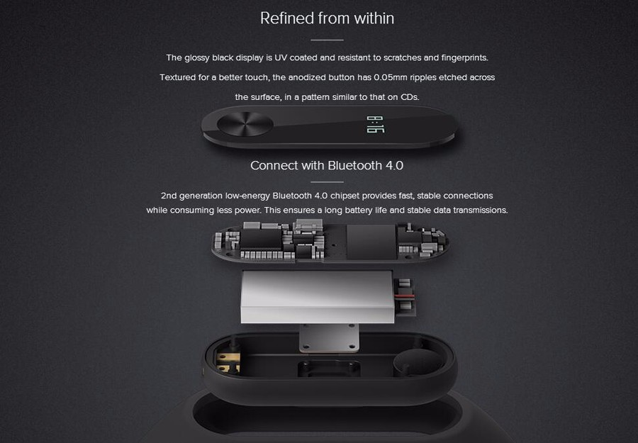 Global Original Xiaomi Mi Band 2 With Passometer Activity Tracker Xaomi Smart Bracelet Fitness Watch For Xiomi Miband2 Miband 2 12